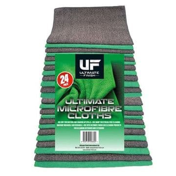 ULTIMATE FINISH MICROFIBRE CLOTH 24 PACK