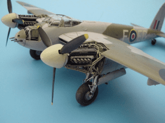 Aires 1/48 Resin Mosquito FB Mk.VI Engine Set (for Tamiya kit)