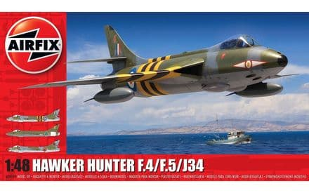 Airfix 1/48 Hawker Hunter F.4/F.5/J34