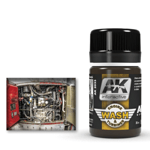 AK Interactive Engine and Turbines Wash