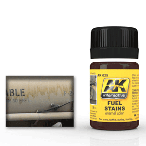 AK Interactive Fuel Stains