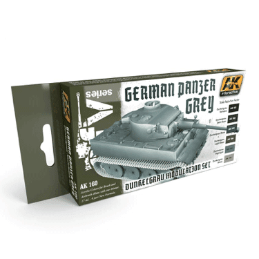 AK Interactive German Panzer Grey Modulation Paint Set