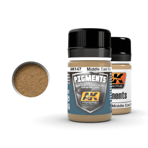 AK Interactive Middle Eastern Soil Pigments