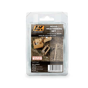 AK Interactive Wood Weathering Set