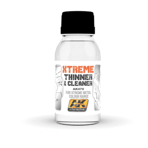 AK Interactive Xtreme Cleaner 100ml (for Xtreme Metal Range)