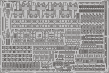 Eduard 1/350 HMS King George V Photo Etch Set (for Tamiya kit)