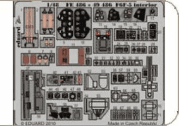 Eduard 1/48 F6F-5 Hellcat Interior (for Hobby Boss kit)