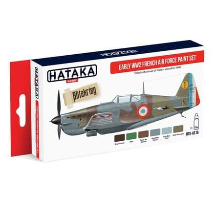 Hataka Early WWII French Air Force Paint Set (Acrylic)