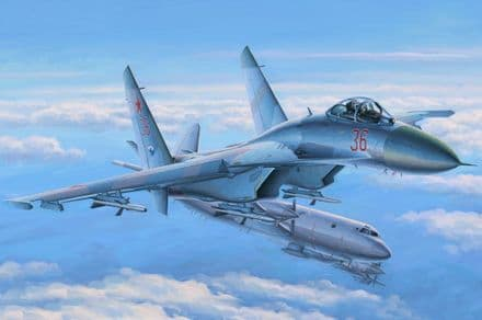 Hobby Boss 1/48 Su-27 Flanker Early