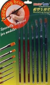 Trumpeter Tools Modelling Brushes (7 piece set)