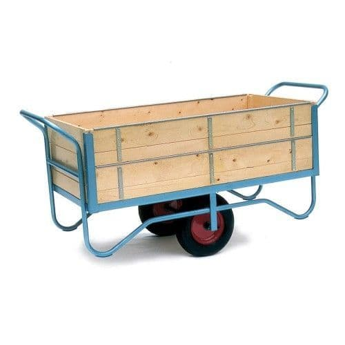 Balance Trolley With High Sides