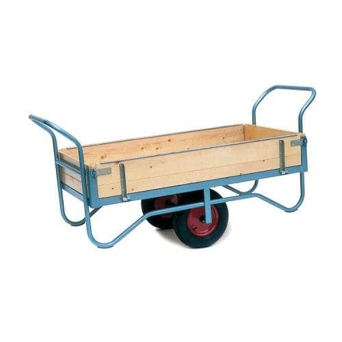 Balance Trolleys Hinged Sides| Equestrian Trolleys Manual Handling