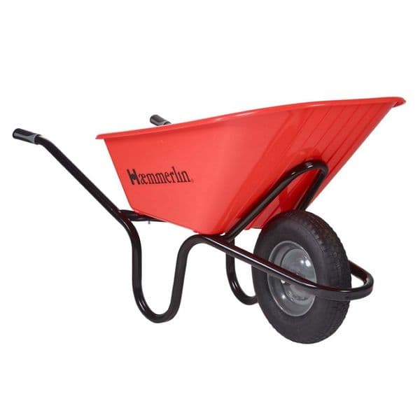 Crusader Wheelbarrow Professional Barrow For Concrete & Cement