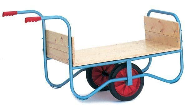 Garden Centre Trolley With Handles One End
