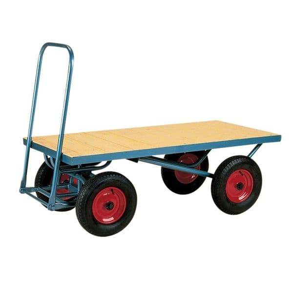 Heavy Duty Turntable Truck With Platform deck