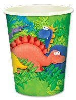 Dinosaur - Shaped Cups x 8