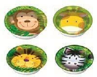 Jungle Animal Safari - Bowls x 8