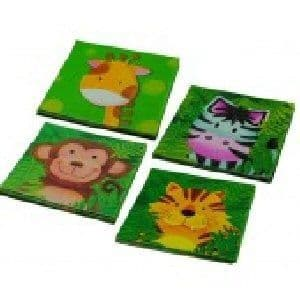 Jungle Animal Safari - Napkins x 20