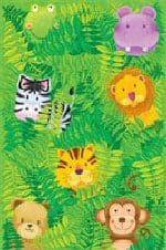 Jungle Safari Teddy - Table Cover