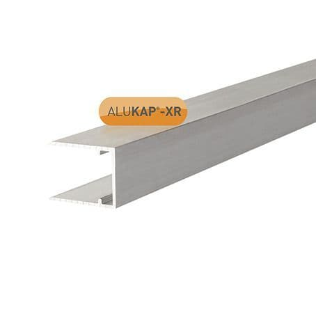 16mm Aluminium C Section 4m