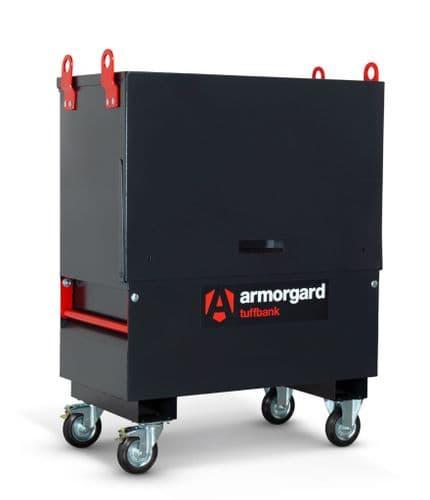 Armorgard TuffBank TBC4L Secure Site Storage Chest - C/W LOLER Lifting Eyes