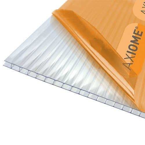 Axiome Polycarbonate Roof Sheets - Clear 10mm Twinwall