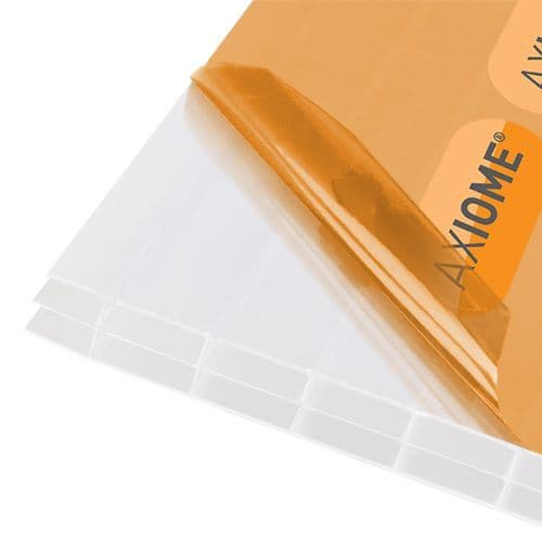 Axiome Polycarbonate Roof Sheets - Opal 16mm Triple-Wall