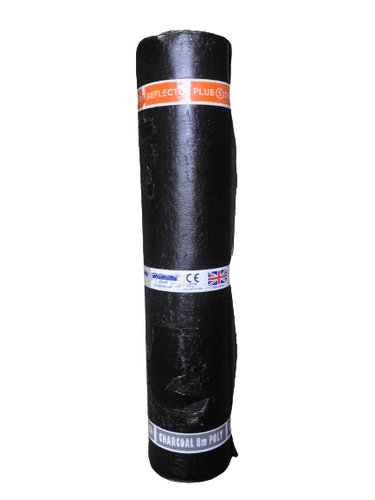 Chesterfelt Charcoal Mineral Debotec Deflector Plus 5 Torch On Cap Sheet