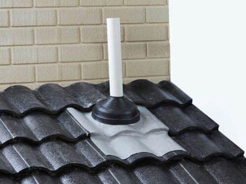 DEKS Rapid Flash Pipe Flashings For Tile or Slate Roof