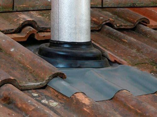 DEKS Seldek Nu-Lead Pipe Flashing Mini - 12mm to 70mm Pipe