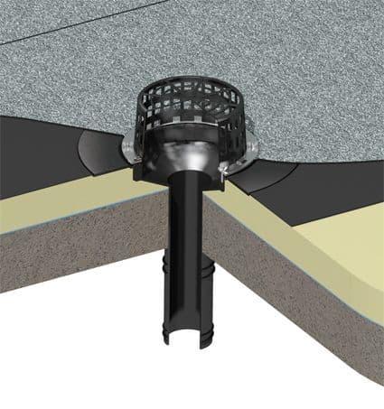 Flat Roof Outlet Drain Range