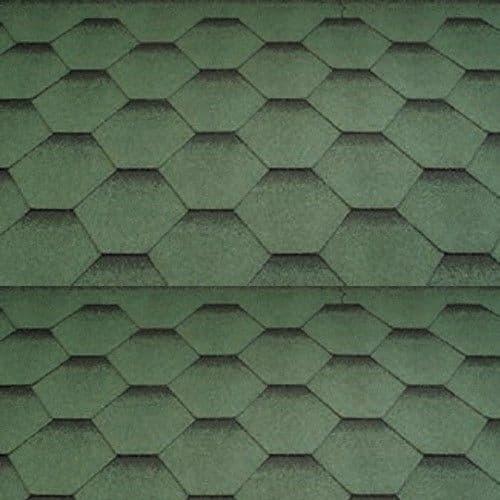 Katepal Katrilli Hexagonal Bitumen Roof Shingles - 3m2 Pack