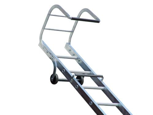 Lyte Trade TRL240 Double Section Aluminium Roof Hook Ladder - 6.64m