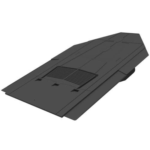 Manthorpe Inline Slate Vent Black 600mm x 300mm - GILSV30-25-BL