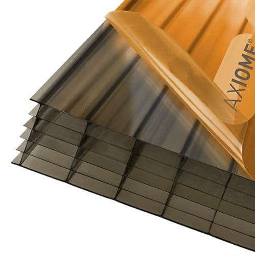 Polycarbonate Roof Sheets - Axiome Bronze 35mm Multiwall