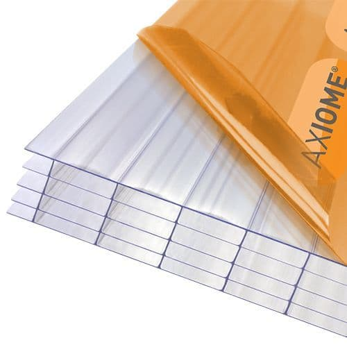Polycarbonate Roof Sheets - Axiome Clear 35mm Multiwall