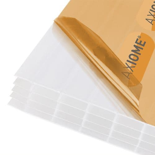 Polycarbonate Roof Sheets - Axiome Opal 25mm Multiwall