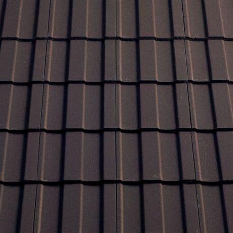 Sandtoft Concrete Lindum Roof Tile - 02 Brown Granular