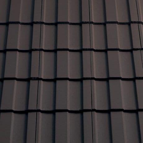 Sandtoft Concrete Lindum Roof Tile - 10 Brown Smooth