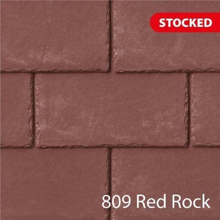 Tapco  Classic Synthetic Slate Tile - Red Rock (25 Pack)