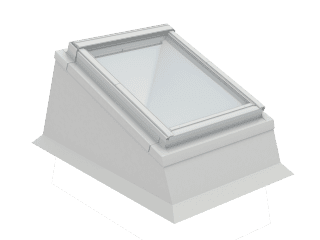 VELUX - ECX UK08 0000T - Insulated kerb for RW installation in flat roof, 0-15 degrees, 134x140