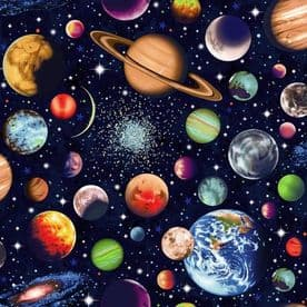 89690 SOLAR SYSTEM SOLAR SYSTEM COL. 103 SCATTERED PLANETS