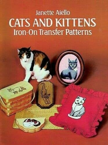 CATS AND KITTENS  Iron-on Transfer Patterns