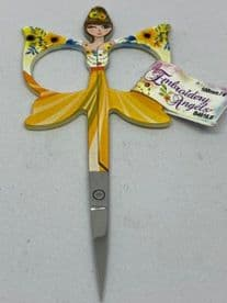 Embroidery Scissors : Angels