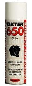 TAKTER 650 TEMPORARY ADHESIVE