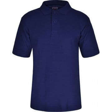 Polo Shirt in Navy with School Logo (Not Compulsory)