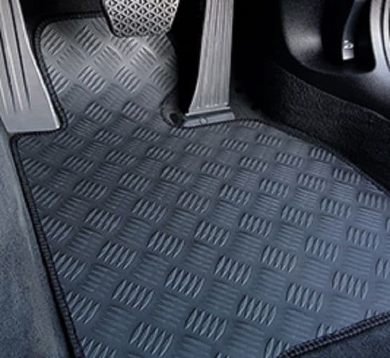 BMW 3 series GT (F34) 2013 Onwards- Rubber Car Mats-Heavy Duty Rubber-Fitted Car Mats