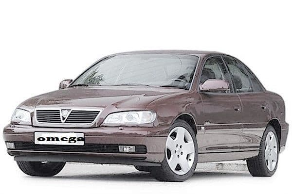 Vauxhall Omega Boot Liners