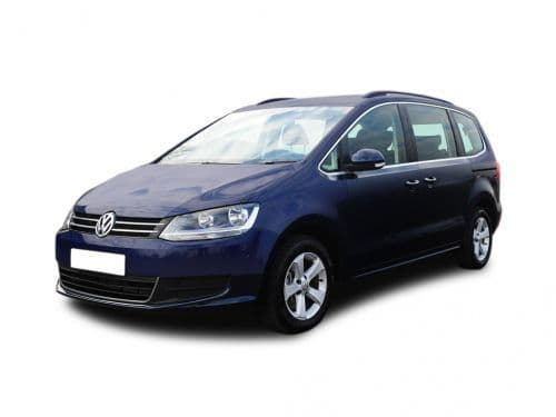 VW Sharan Boot Liners