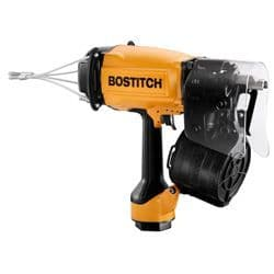 Bostitch IC90C-1-E Industrial Coil Nailer 90mm Contact Trip CHEP Diameter 2 5 - 3 1mm Length 45 - 90mm Features Rubber Comfort Grip Adjustable Exhaust